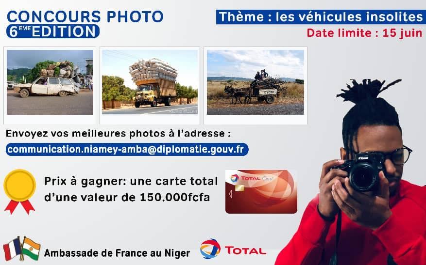 L'ambassade de France au Niger lance son 6ème concours photo