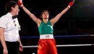 Sadaf Khadija, la première boxeuse d'Iran à monter sur un ring