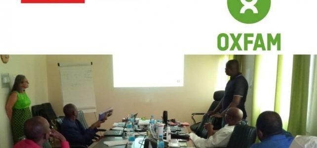 OXFAM organise du 10 au 13 juillet, deux ateliers d'échanges pour approfondir l'élaboration de projets de qualité