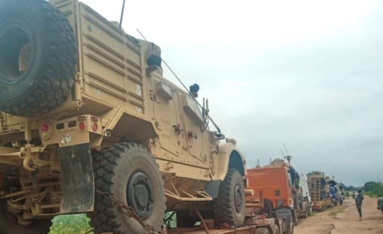 Le Nigéria a saisi du matériel militaire à destination du Niger : la destination et la source étaient douteuses