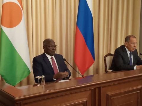 Visite de travail à Moscou du Ministre Kalla Ankourao: renforcer la coopération dans les domaines politique, énergétique, économique, humanitaire