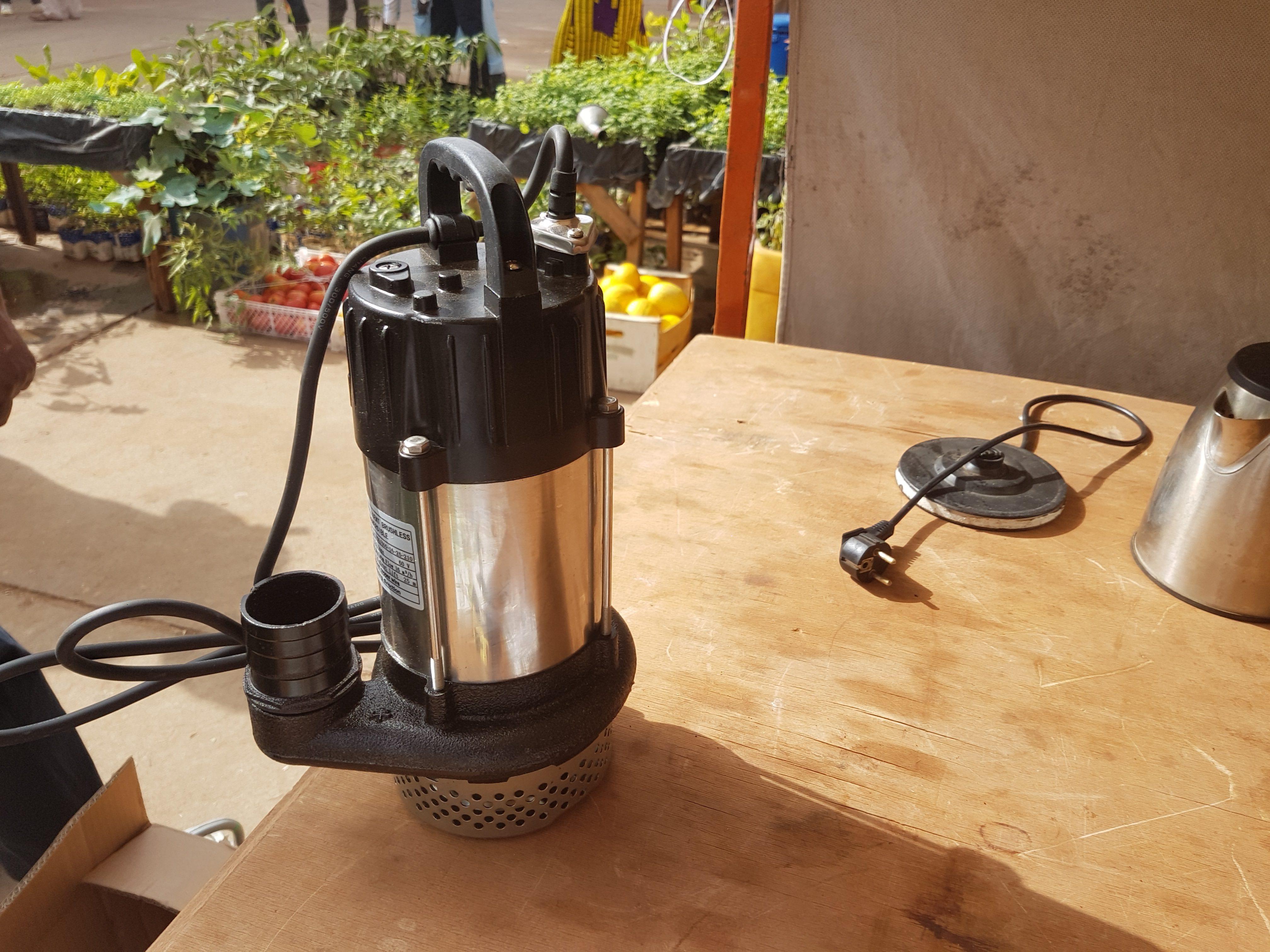 Des pompes solaires accessible aux irrigants
