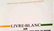 Six (6) points pour comprendre l'essentiel  du Livre Blanc de l'Opposition politique