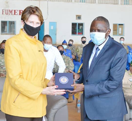 Coopération militaire USA-Niger: Réception de l'avion C-130 nigérien après sa maintenance aux USA