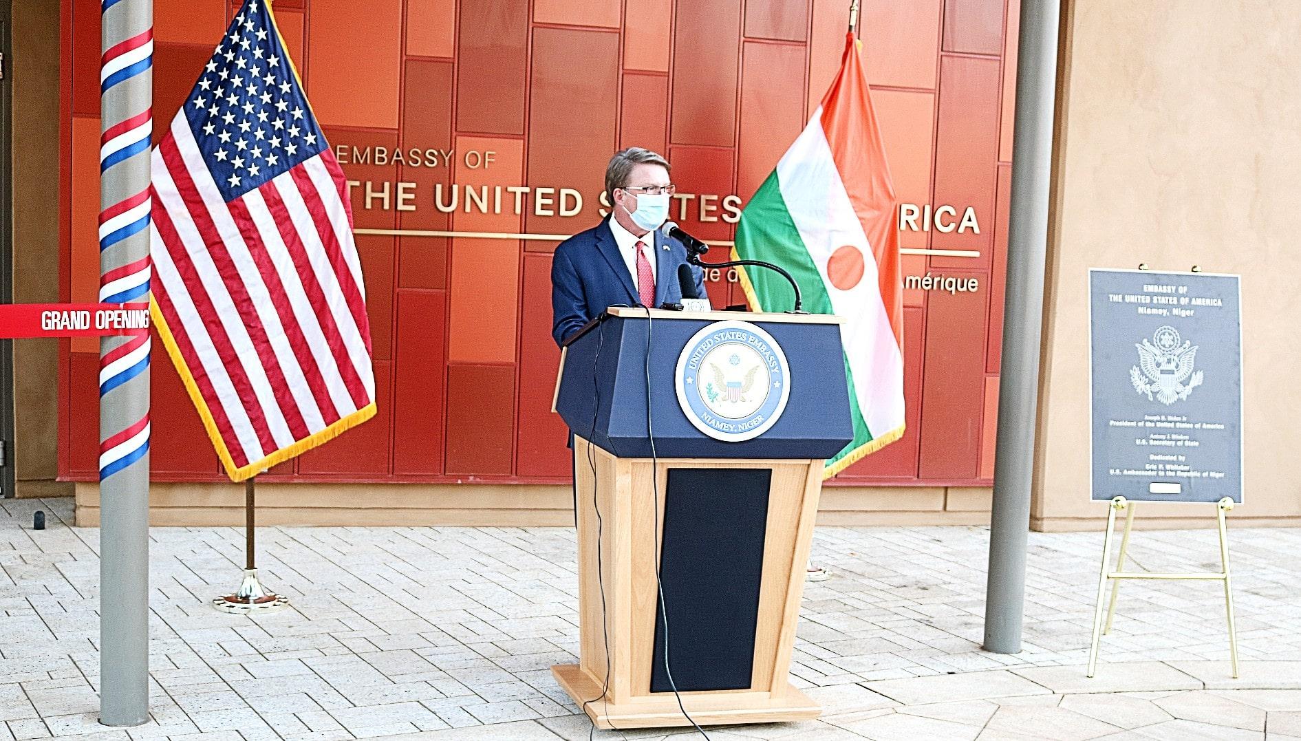 Le Nouveau Bâtiment de Notre Ambassade : Preuve d'un Engagement Durable envers le Niger